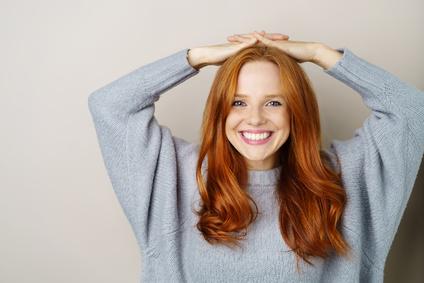 Feurige Haarpracht Rote Haare Style Room Reutlingen